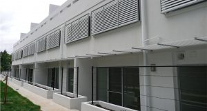 Pattern of aluminum composite architecture wall