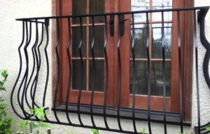 Ab image of wrought iron window guards