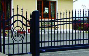 Custom designed security gates.