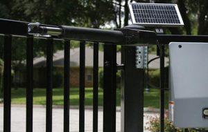 An image illustrating steel fencing.