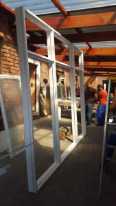 Aluminium windows and doors manufacturing, window frame production, window replacement